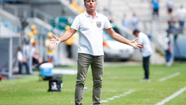 Renato admite atuação apagada do Grêmio em vitória magra