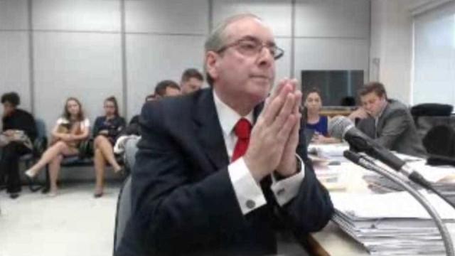 Vídeo mostra Cunha dizendo a Moro que tem aneurisma