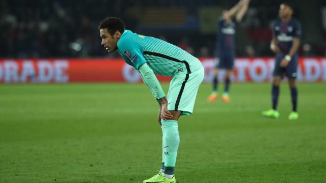 Neymar sobre possibilidade de virada do Barça: 'Quase impossível'