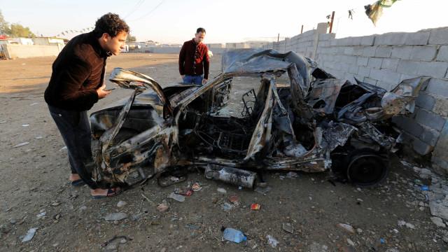 Mais de 50 morrem em ataque  com carro-bomba em Bagdá