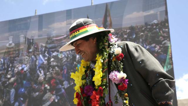 Apoiadores de Evo Morales fazem ato por novo mandato