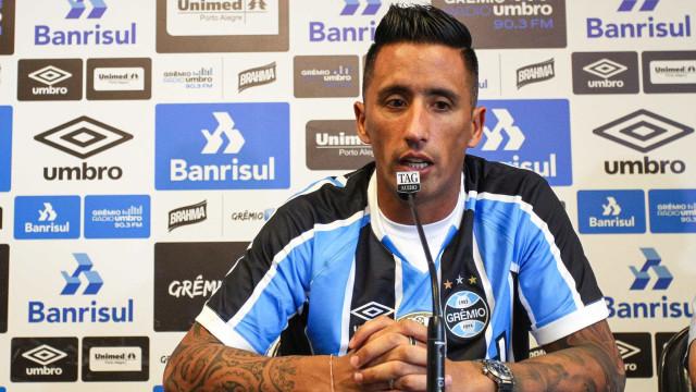 Barrios admite adaptação e quer estrear no Gre-Nal