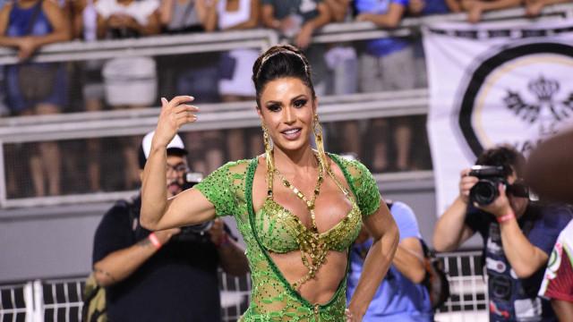 Gracyanne diz que abandonou advocacia para dançar e revela projeto