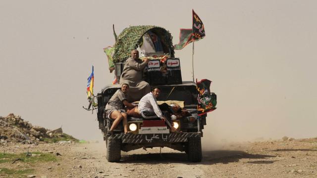 Militares iraquianos recuperaram  um terço de Mossul ocidental