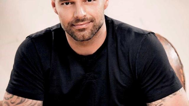 Ricky Martin revela seu primeiro 'crush' entre celebridades