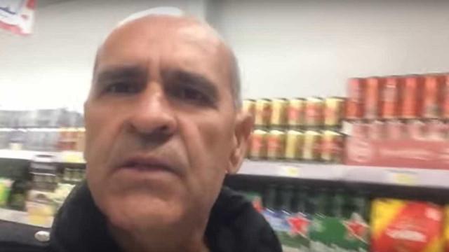 Preso por engano, brasileiro grava  desabafo em mercado de Portugal
