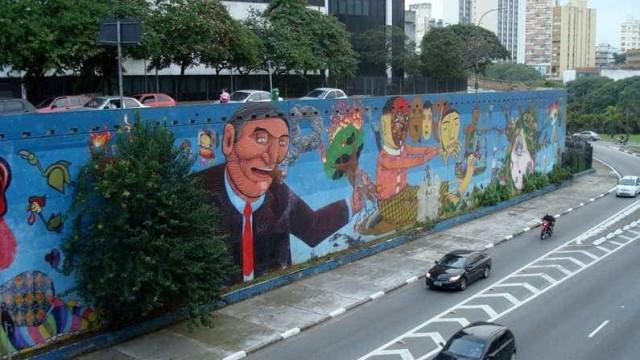 Projeto de Doria para grafites pagará até R$ 40 mil