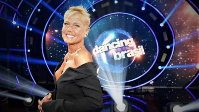 """Xuxa 'dá bronca' ao vivo em Dancing Brasil:  """"Deixa eu falar, diretor"""""""