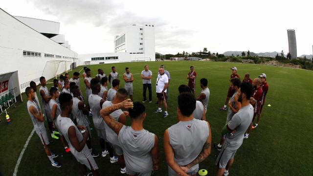 Fluminense treina para Primeira Liga, mas prioriza  final do Carioca
