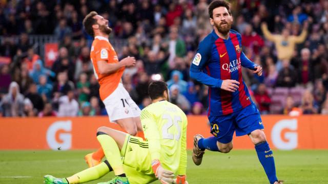 Barcelona atropela o Osasuna com placar de 7 a 1 no Espanhol