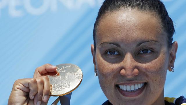 Medalhista olímpica, Okimoto é superada e fica fora de Mundial