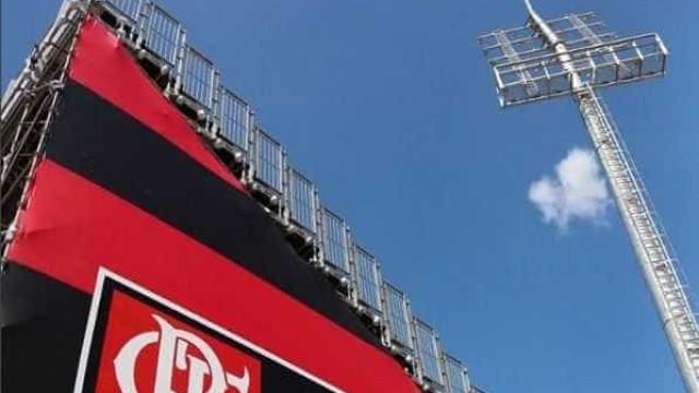 Dirigente do Flamengo prevê 15 dias para reparos na Arena da Ilha