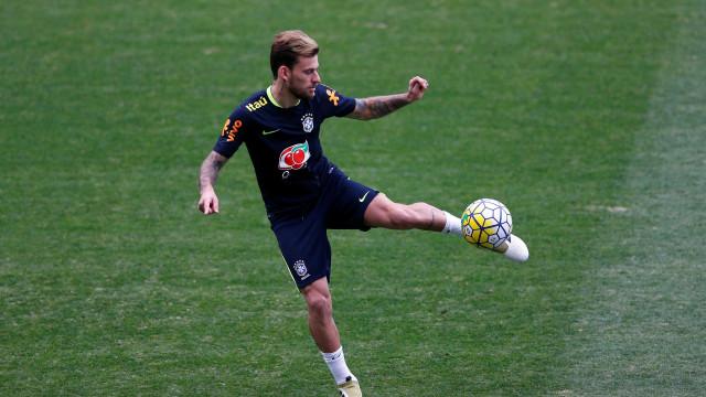 Lucas Lima pode ser cortado da  seleção por causa de lesão