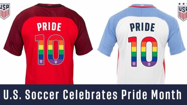 Seleções dos EUA vão homenagear mês LGBT em uniforme