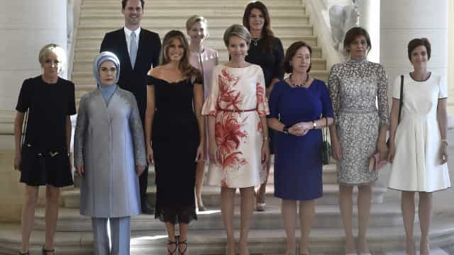Reação da Casa Branca ao 'primeiro-marido'  da OTAN impressiona
