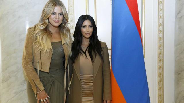 Kim Kardashian quer que irmã seja barriga de aluguel para seu 3º filho