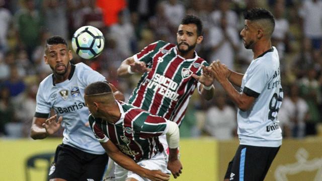 Grêmio vence Fluminense outra vez e avança  na Copa do Brasil