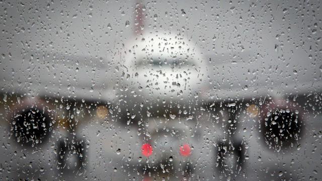 Avião da Chape muda plano de pouso por causa de mau tempo