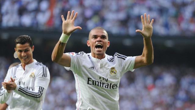 Pepe confirma saída do Real Madrid: 'É claro que não vou continuar'