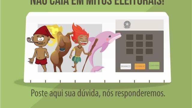 Campanha do TSE nas redes sociais vai desmistificar mitos eleitorais