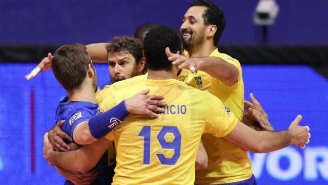Brasil encerra fase classificatória  da Liga Mundial com vitória