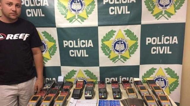 Polícia prende suspeito de aplicar golpes com cartões de crédito