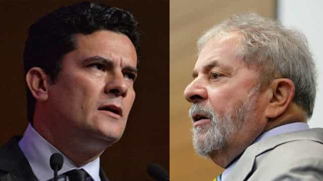Frente a frente: Lula depõe a Moro  em Curitiba com prédio isolado