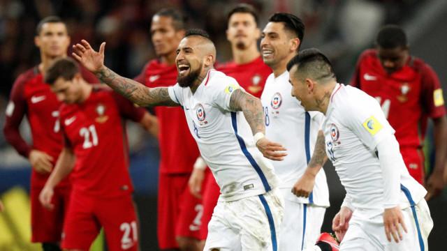 Chile vence nos pênaltis e decide  Copa das Confederações