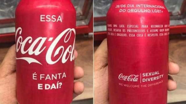 Coca-Cola faz lata contra homofobia:  'Essa Coca-Cola é Fanta. E daí?'