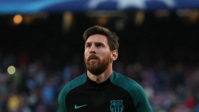 Novo contrato de Messi tem rescisão de R$ 1,5 bilhão, diz rádio