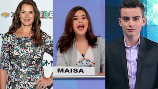 Brooke Shields, Dudu Camargo e ex-BBB Daniel são mais lidos da semana