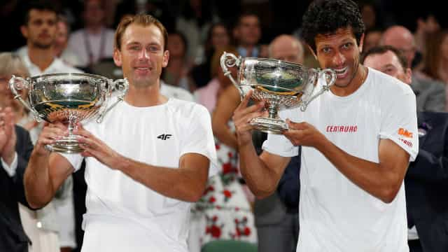 Marcelo Melo vence Wimbledon  e encerra jejum de 51 anos