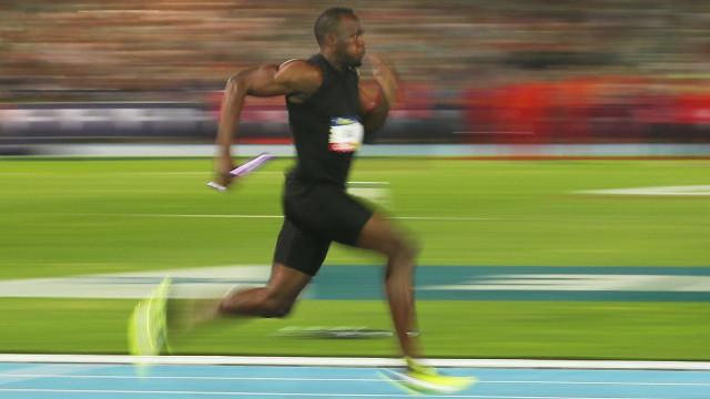 Bolt avisa que só vai disputar os 100 m e o revezamento no Mundial