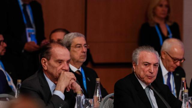 Houve ruptura da ordem democrática na Venezuela, diz Temer