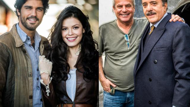 Tony Ramos se une a atores novatos na novela 'Tempo de Amar'