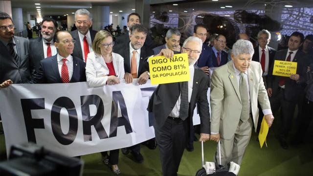 Protesto: deputados gritam 'Fora Temer' no plenário da Câmara