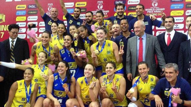 Brasil supera sensação italiana e conquista o 12º título de Grand Prix