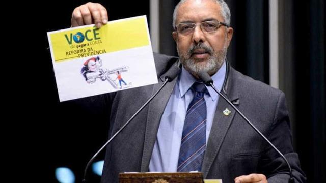 Paulo Paim: governo deve cobrar devedores para cobrir Previdência