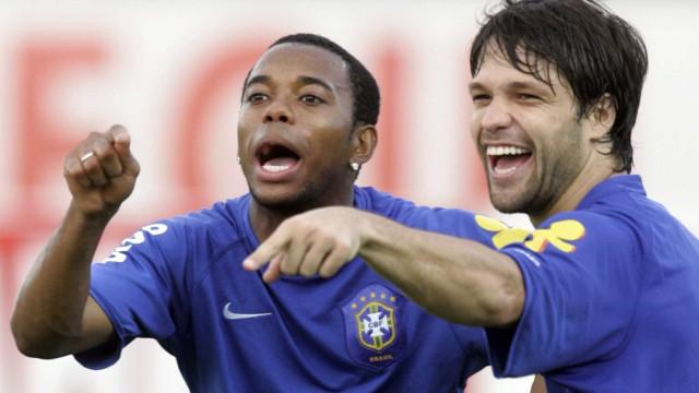 Santos quer usar dinheiro de Neymar para contratar Diego e Robinho