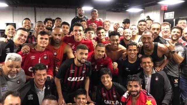 Atlético-PR goleia o Bahia e emplaca 4ª vitória seguida