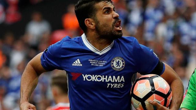 Diego Costa diz que foi tratado como 'criminoso' no Chelsea