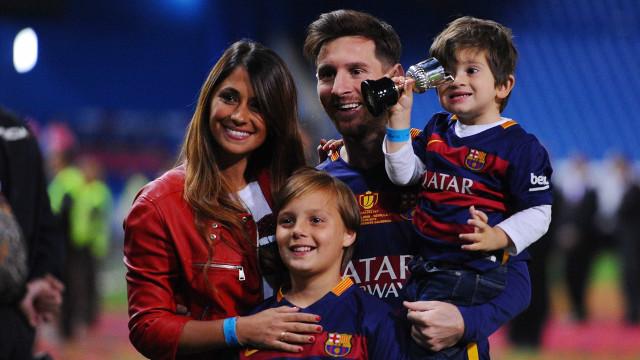 Messi e Antonella Roccuzzo estão grávidos do terceiro filho do casal