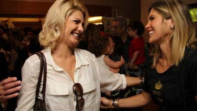 Flavia Alessandra sobre Fontenelle: 'Quem entrou com processo foi ela'
