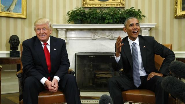 CNN revela conteúdo da 'mensagem final' da Obama para Trump