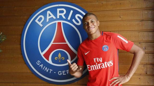 Mbappé se apresenta ao PSG e treina pela primeira vez no novo clube