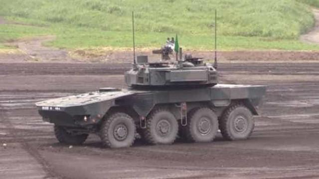 Japão divulga veículo que substituirá tanques de guerra do país