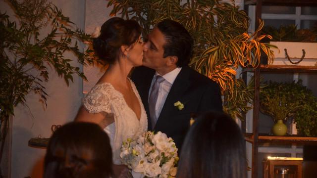 Glenda Kozlowski se casa com dentista no Rio; veja fotos