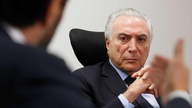 Temer recebeu propina de R$ 1 milhão em dinheiro vivo, diz revista