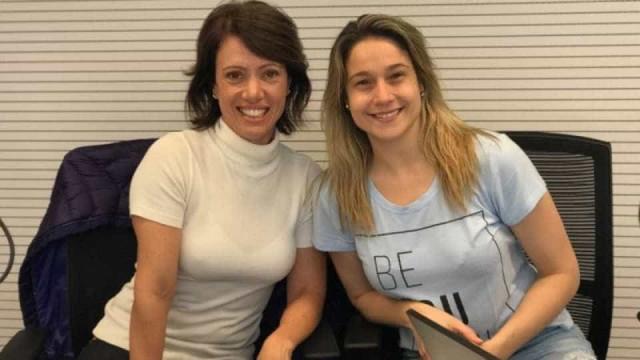 Bel Kutner revela a Fernanda Gentil: 'Sempre gostei de mulheres'