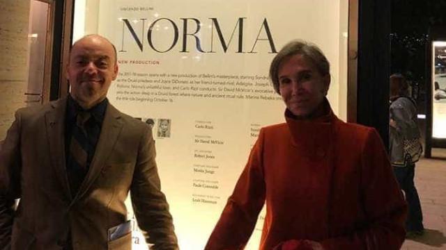 Dona Florinda esclarece foto após fãs especularem novo romance